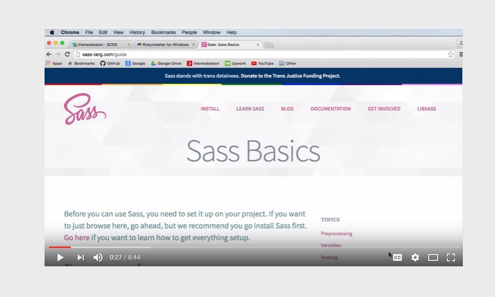 Sass and SCSS Tutorial for Beginners