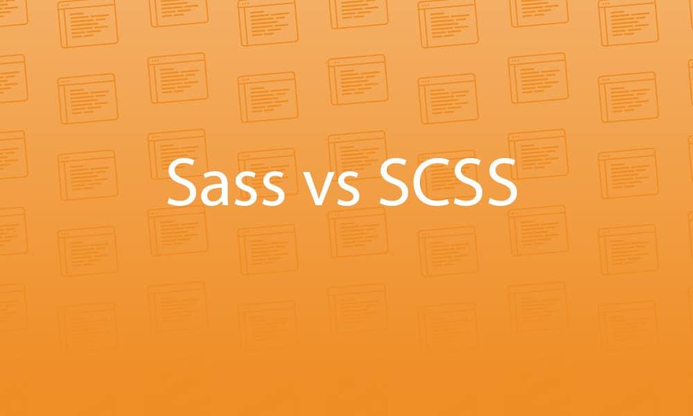 sass-vs-scss