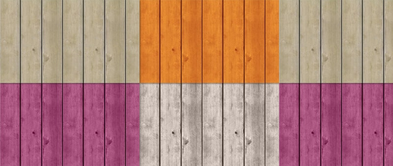 Tileable Wood Texture with 8 Colors