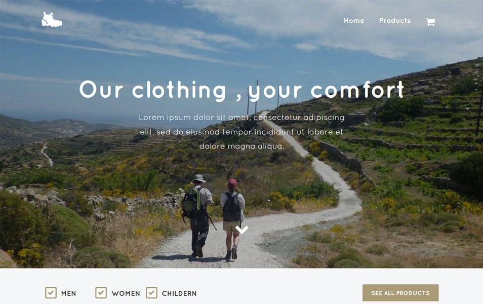 Trekking HTML Template