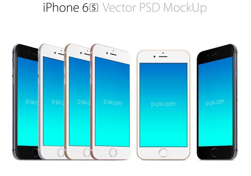 IPhone 6s Mockups