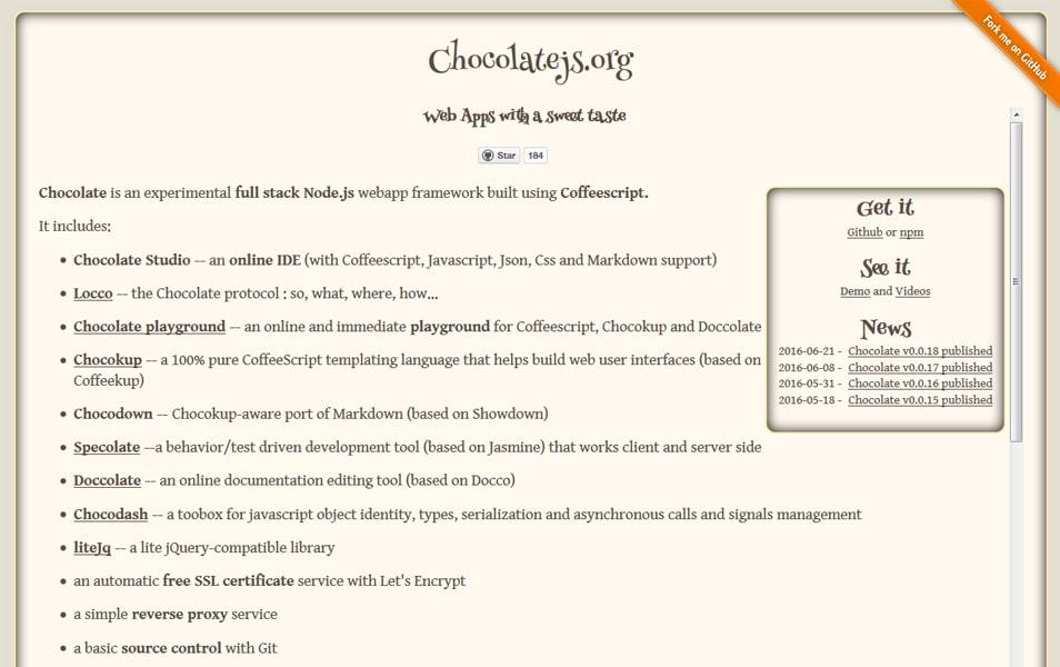 Chocolate.js