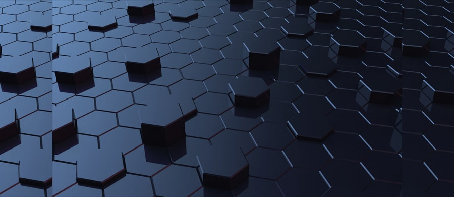 Free Hexagonal 3D Backgrounds