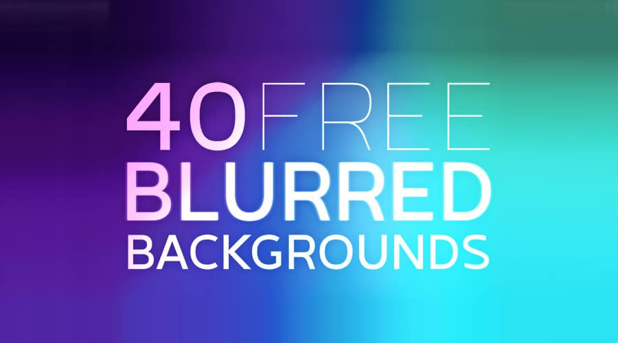 Free High Resolution Vibrant Blurred Backgrounds