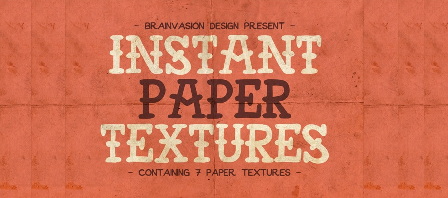 Instant Paper Textures PSD
