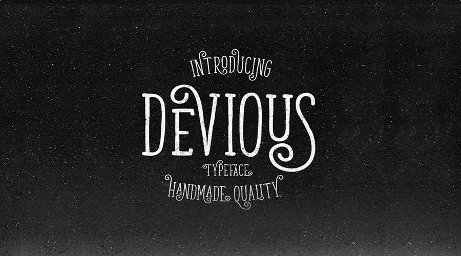 Devious Free Typeface