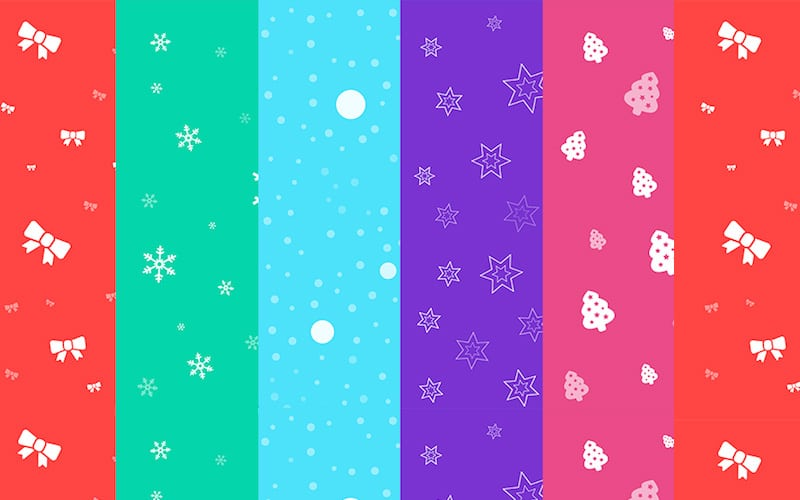 Free Seamless Christmas Backgrounds