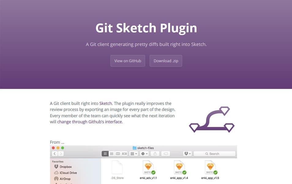 Git Sketch Plugin
