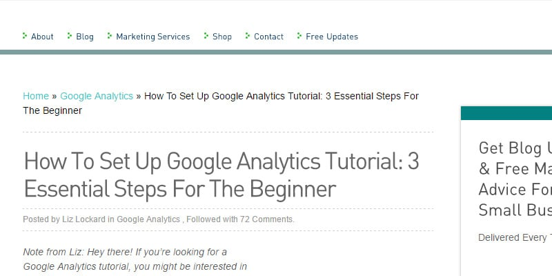 How To Set Up Google Analytics Tutorial