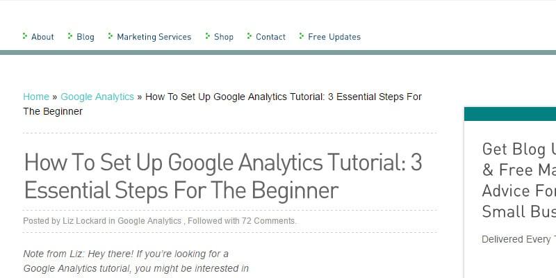 How To Set Up Google Analytics Tutorial