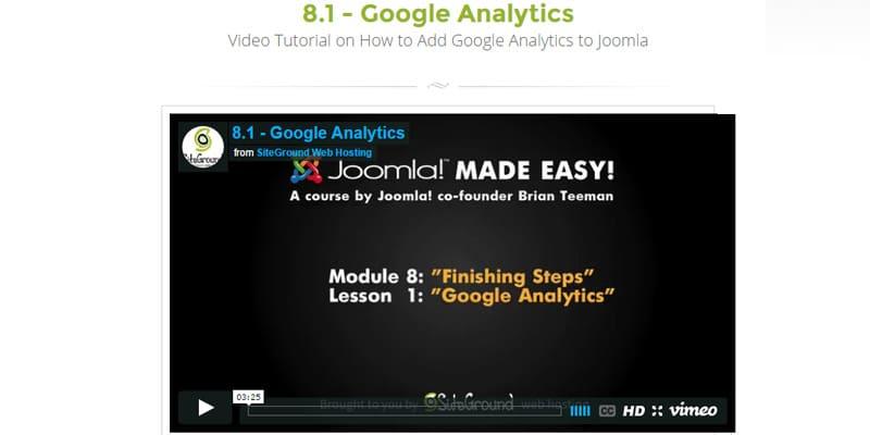 How to Add Google Analytics to Joomla