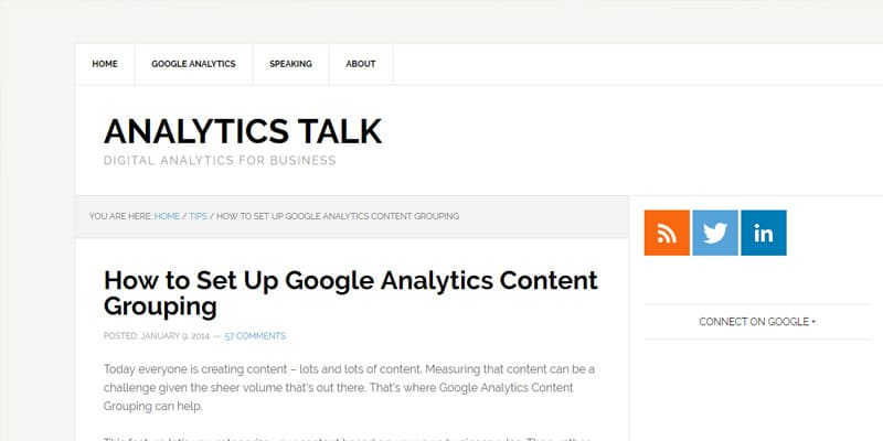 How to Set Up Google Analytics Content Grouping