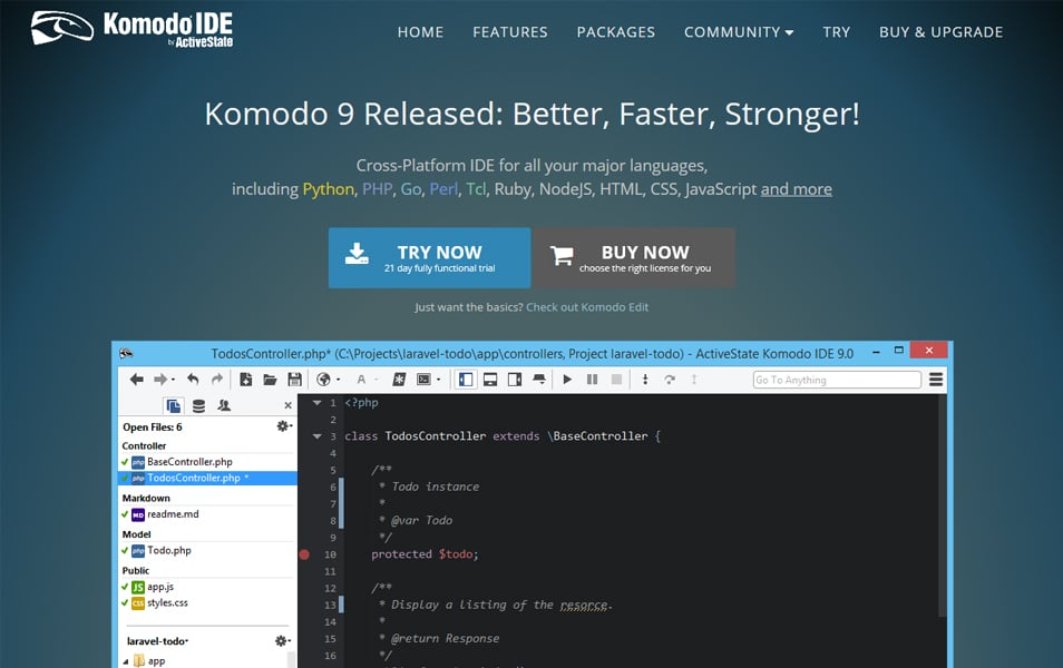 Komodo LESS Compiler