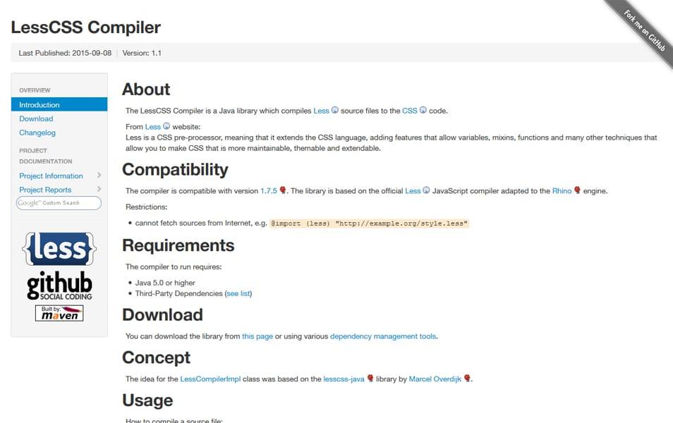 LessCSS Compiler