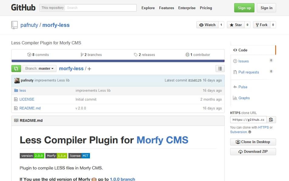 Morfy Less
