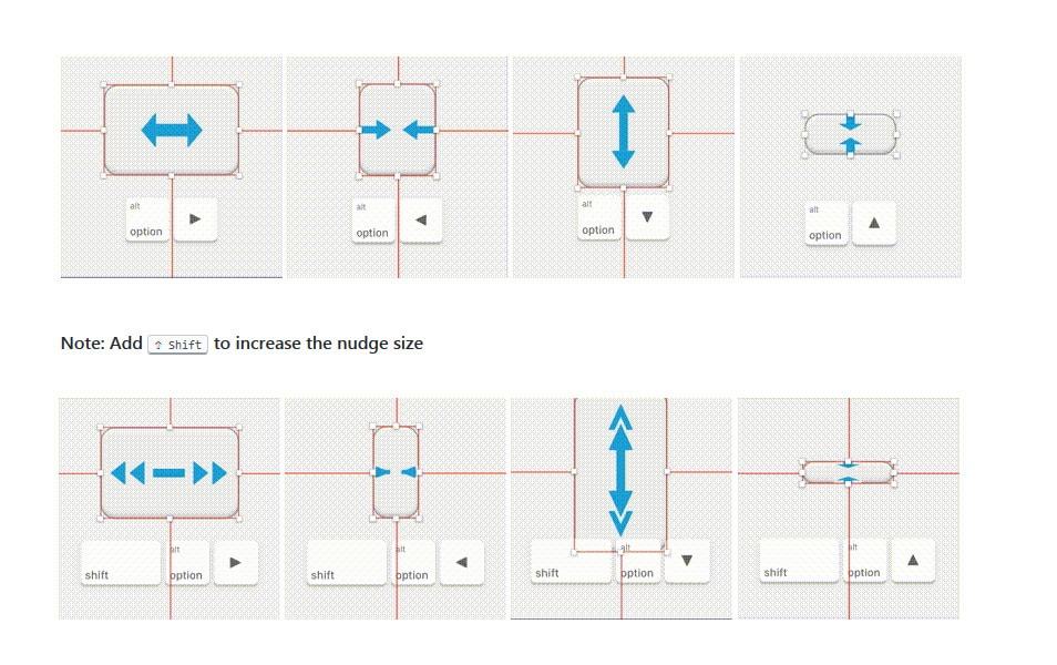 Nudge Resize Sketch Plugin