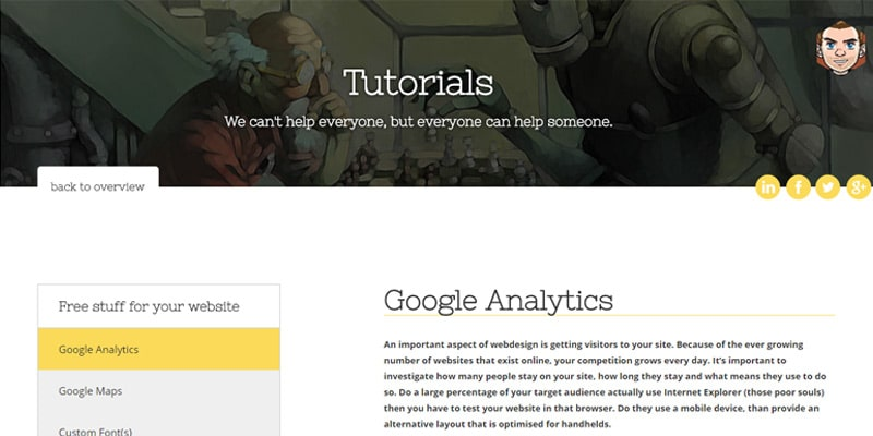 Simple Google Analytics Tutorial