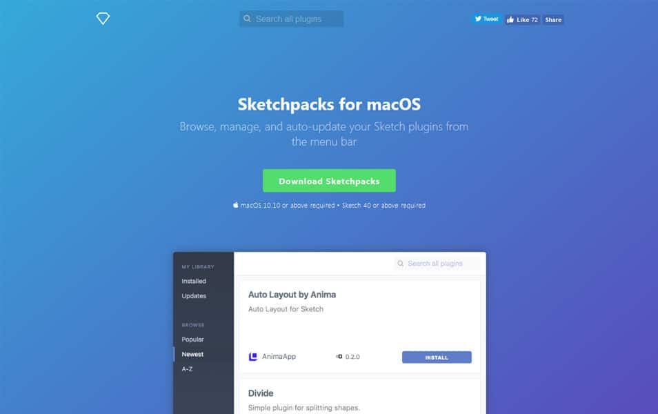 Sketchpacks for macOS