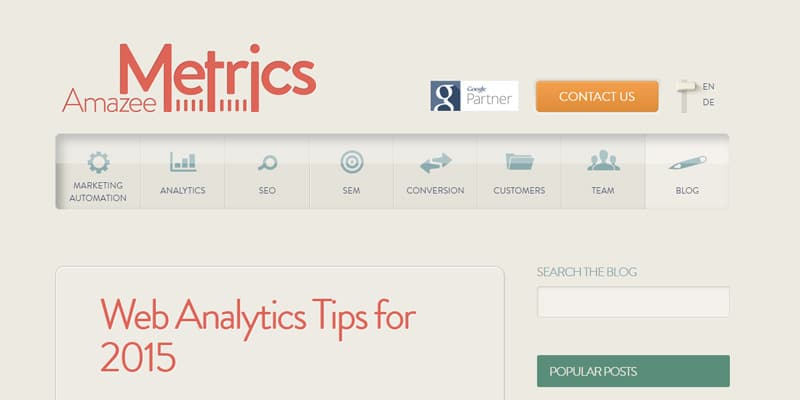Web Analytics Tips for 2015