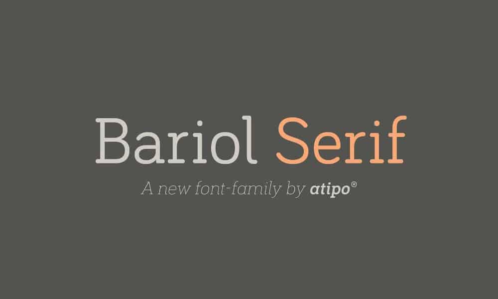 Bariol Serif