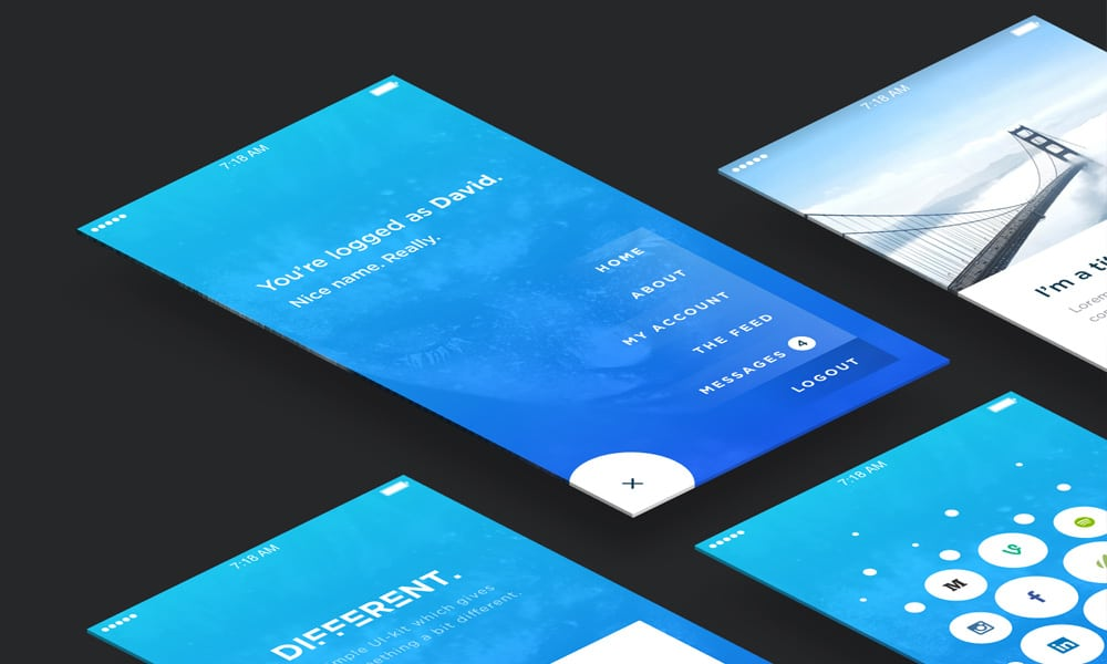 Different UI KIT