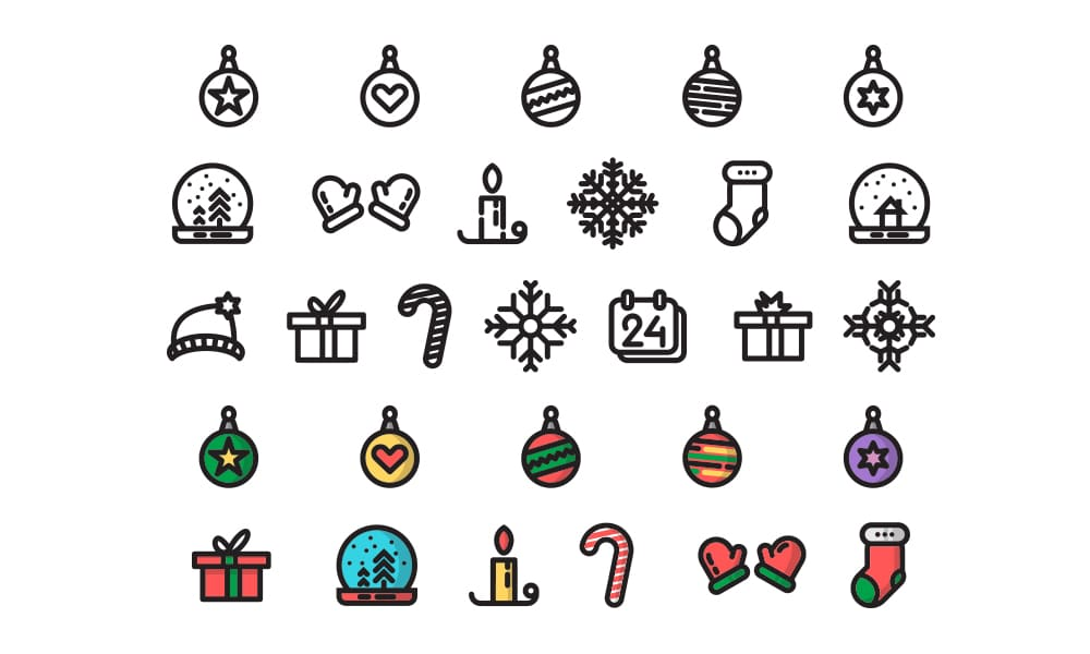 Free-Christmas-Time-Icons