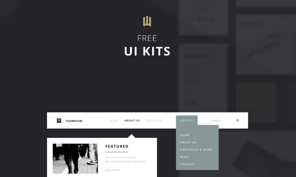 Free Elements UI KIT PSD