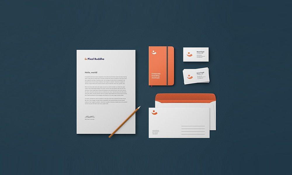 Identity Branding Mockup PSD