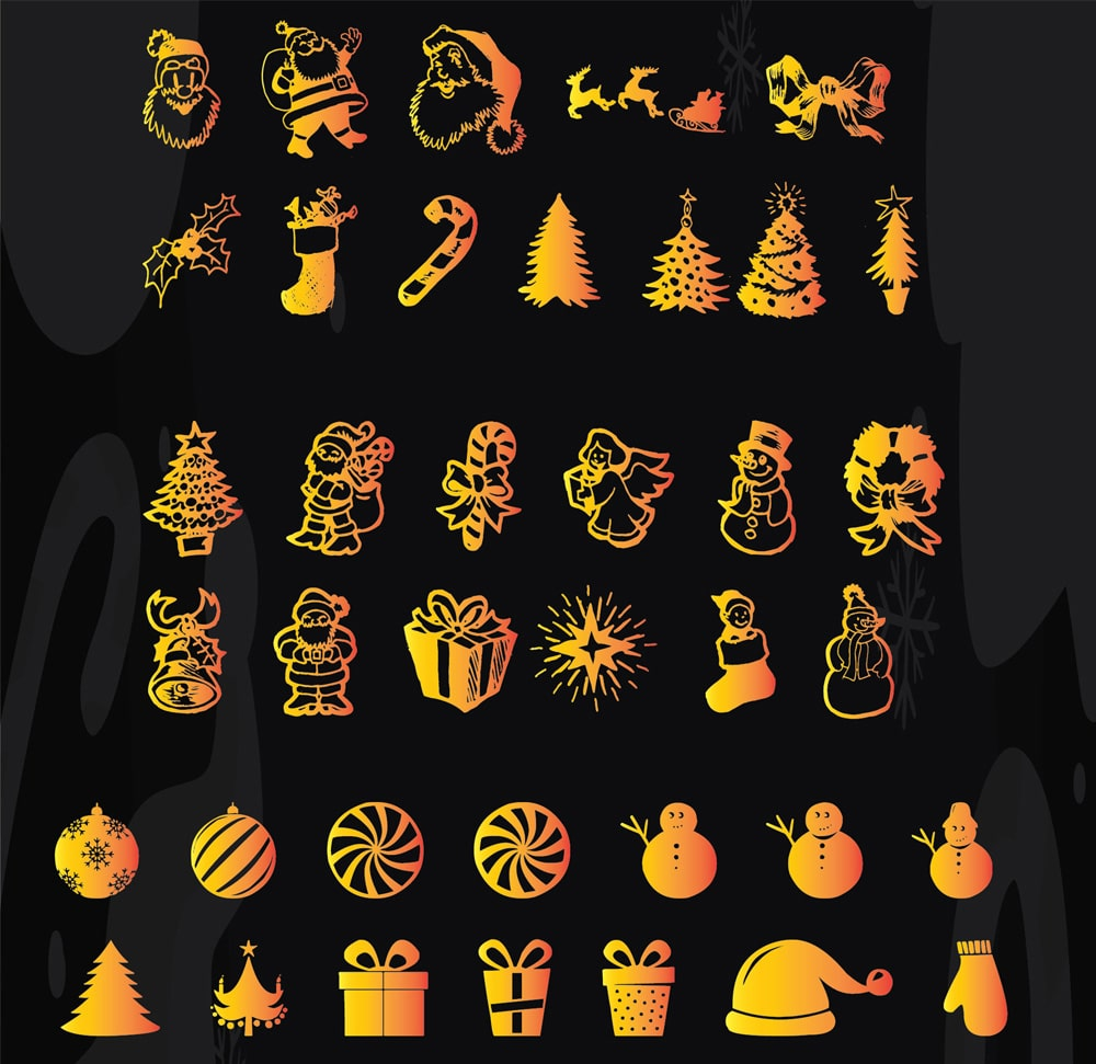 New Christmas Icons