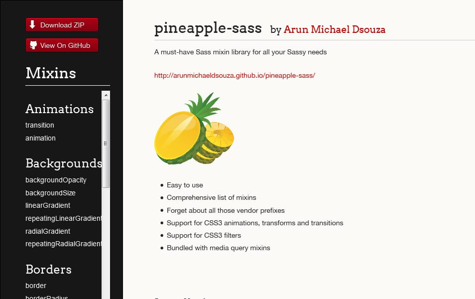 pineapple-sass