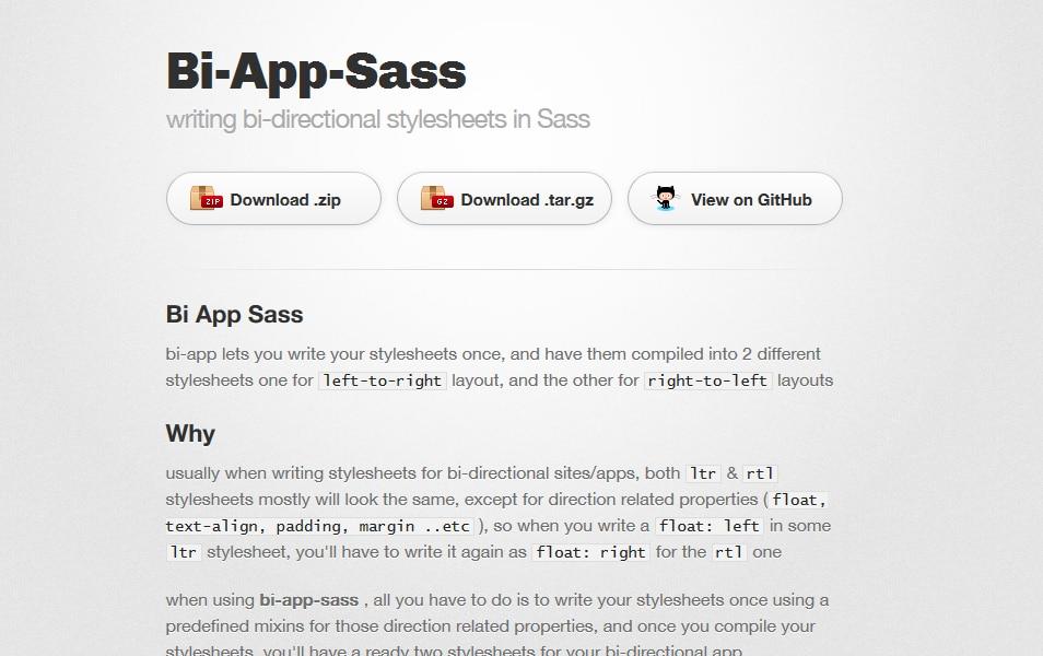 Bi App Sass