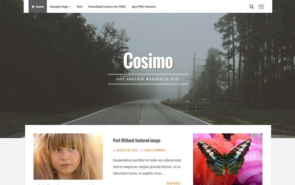 Cosimo Responsive WordPress Theme
