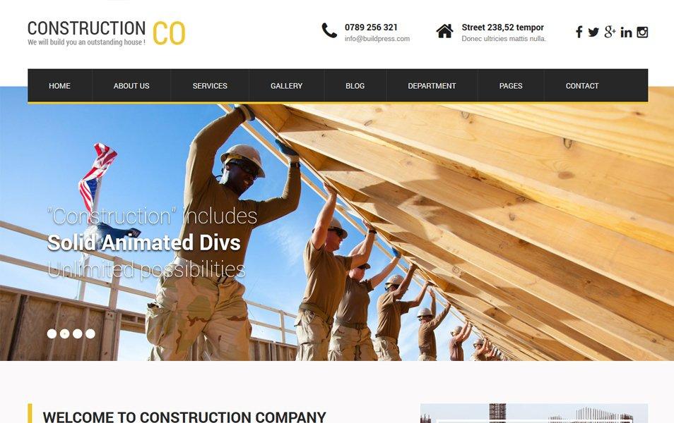 SKT Construction Lite Responsive WordPress Theme