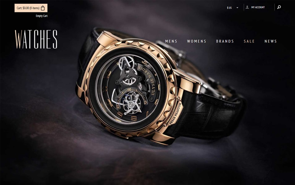 Watches - Flat Ecommerce Bootstrap Web Template