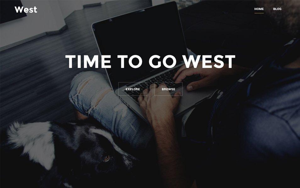 West Responsive WordPress Theme