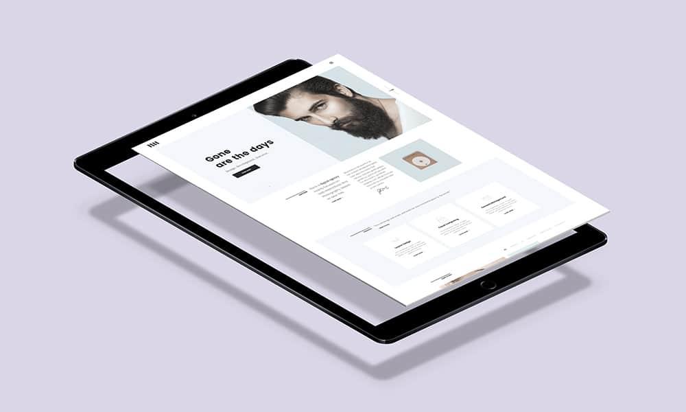 پرواز iPad نرم افزار پیکرنما PSD