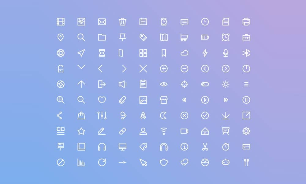 Free Basic UI Icons