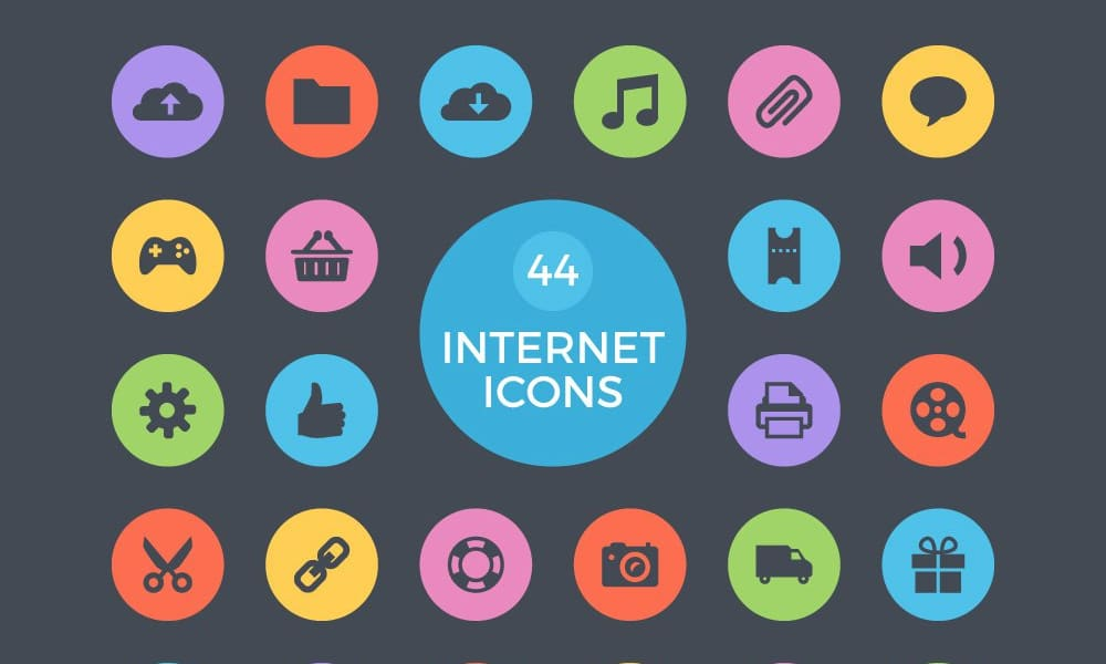 Free Internet Vector Icons