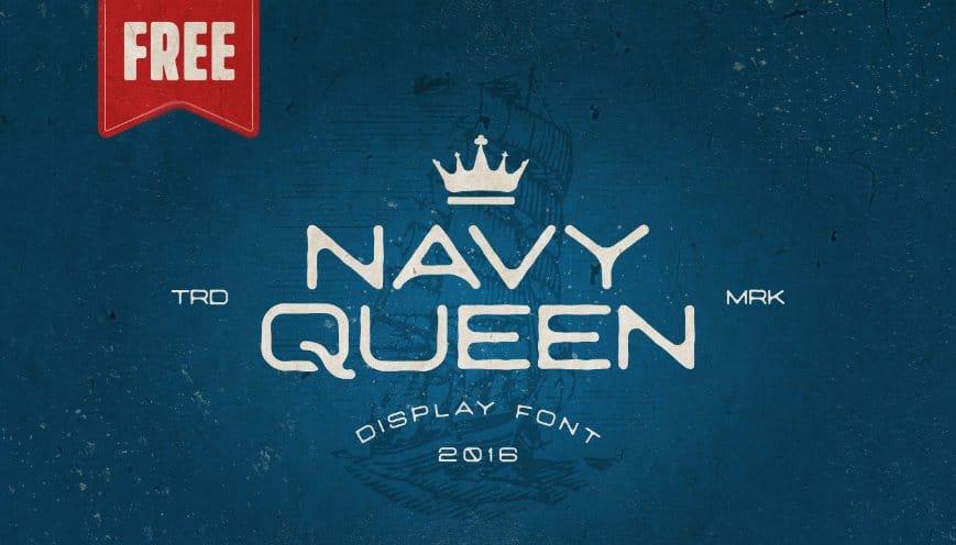NavyQueen رایگان فونت