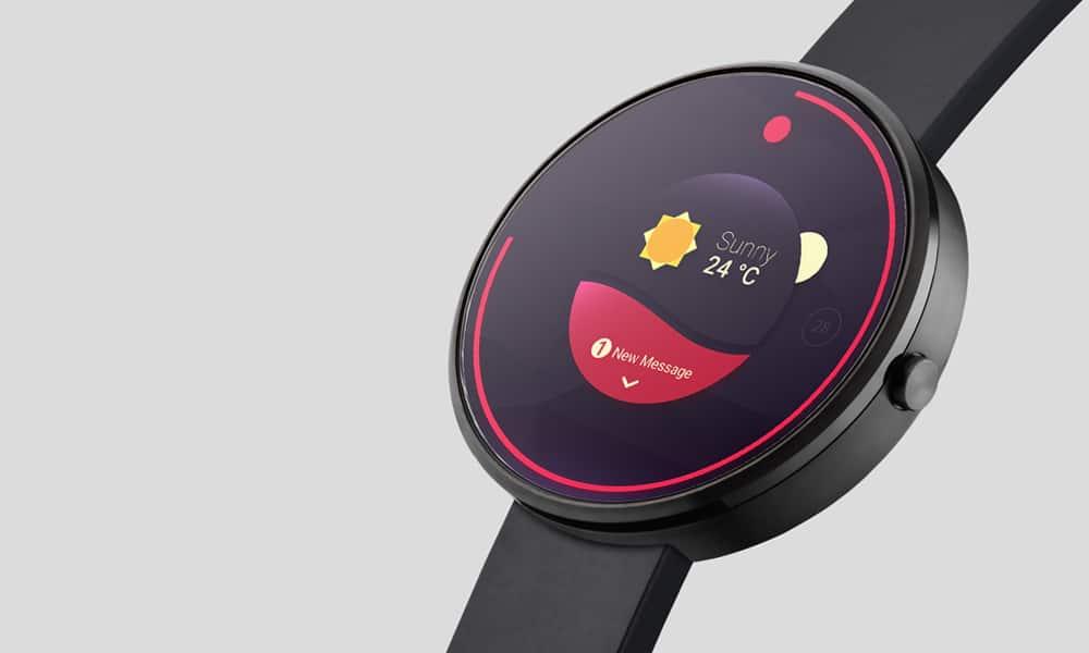 Photorealistic Smartwatch Mockup PSD