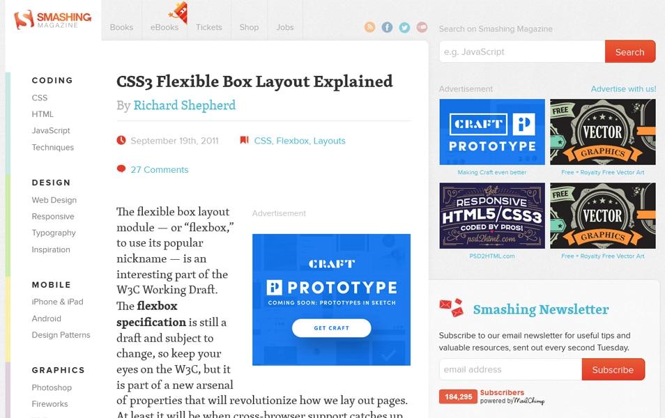 CSS3 Flexible Box Layout Explained