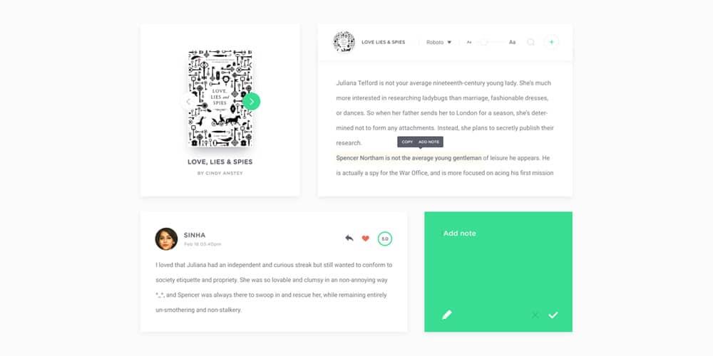 Coco UI Kit PSD