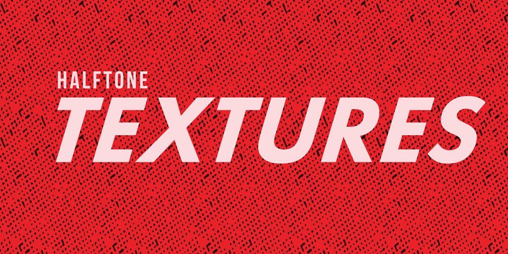 Free Halftone Texture