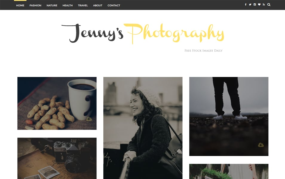 Jenny Responsive Blogger Template