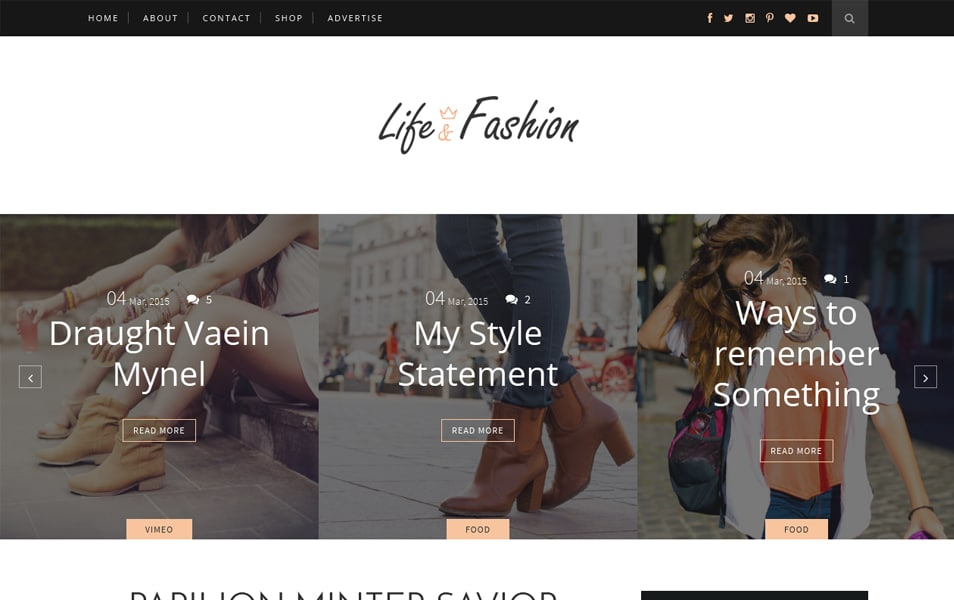 Template Blogger Responsif Life-Fashion