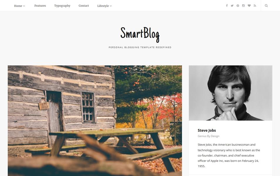 Template Blogger SmartBlog Responsif