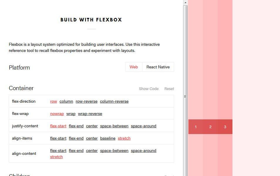 Build with Flexbox