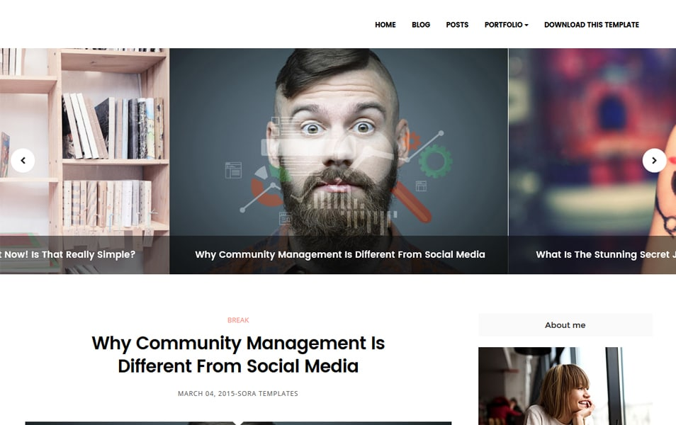 Conversion Responsive Blogger Template