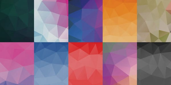 Free Geometric Abstract Backgrounds