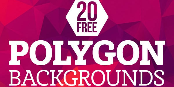 Free High-Res Geometric Polygon Backgrounds